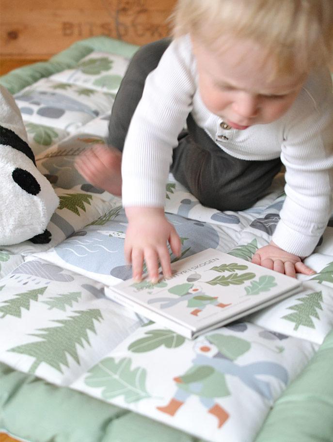 Little Leo babyfilt och sagobok